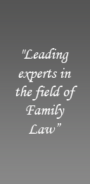 Leading experts in the field of Family Law